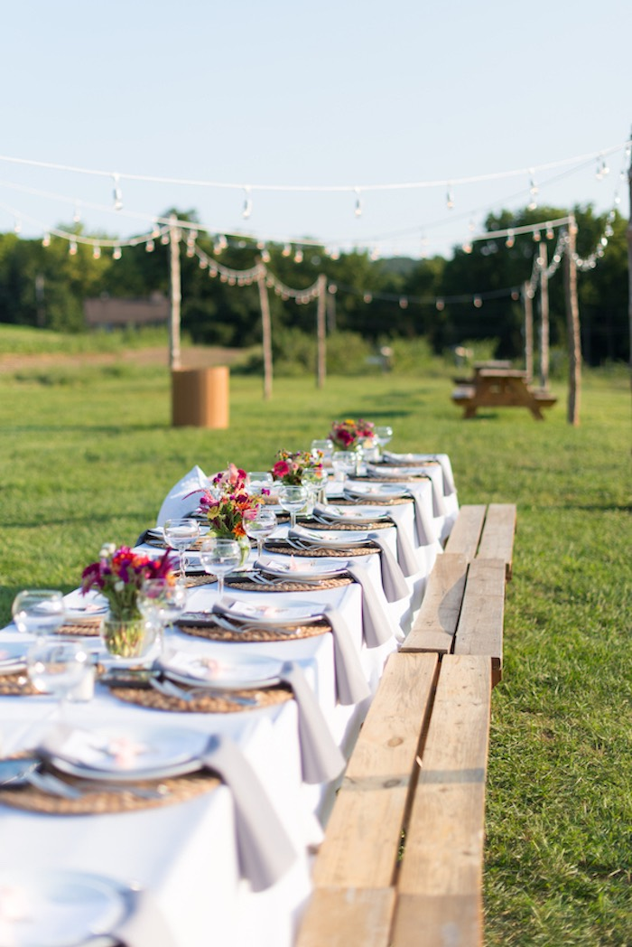 Rustic, Elegant Farm-to-Table Party on Kara's Party Ideas | KarasPartyIdeas.com (27)