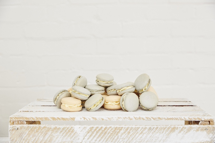Macarons from a Rustic Modern Woodland Party on Kara's Party Ideas | KarasPartyIdeas.com (14)