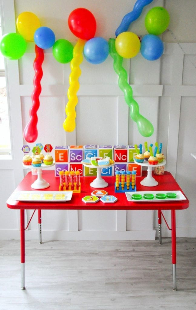 Science Party for Kids Styled By Kara from Kara's Party Ideas for Oriental Trading