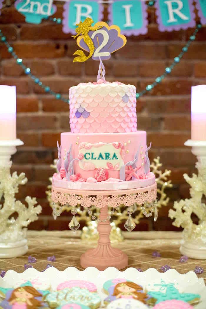 Karas Party Ideas Shimmering Mermaid Birthday Party Karas