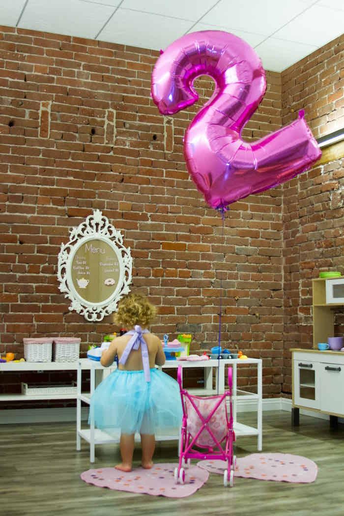 Activity center from a Shimmering Mermaid Birthday Party on Kara's Party Ideas | KarasPartyIdeas.com (34)
