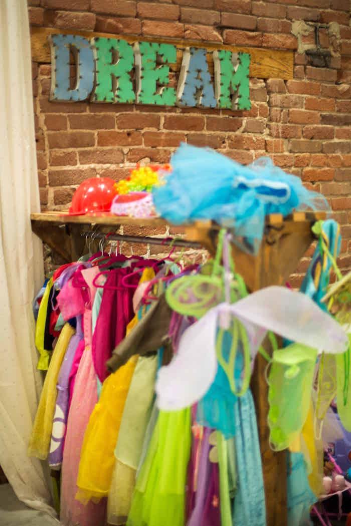 Dress ups from a Shimmering Mermaid Birthday Party on Kara's Party Ideas | KarasPartyIdeas.com (31)