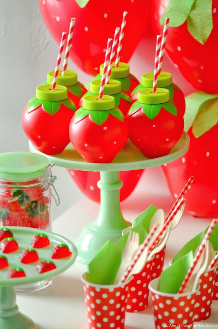 Kara's Party Ideas Berry Sweet Strawberry Valentine's Day ...