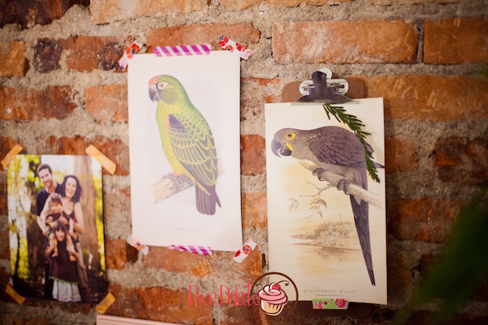 Tropical bird prints from a Taina Inspired Little Indian Birthday Party on Kara's Party Ideas | KarasPartyIdeas.com (10)