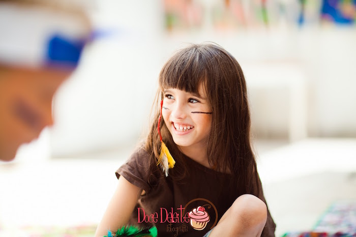 Taina Inspired Little Indian Birthday Party on Kara's Party Ideas | KarasPartyIdeas.com (6)