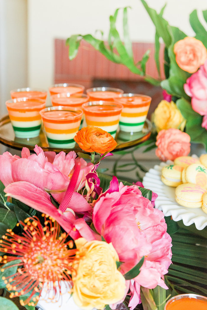 Jello cups from a Tropical Birthday Party on Kara's Party Ideas | KarasPartyIdeas.com (45)