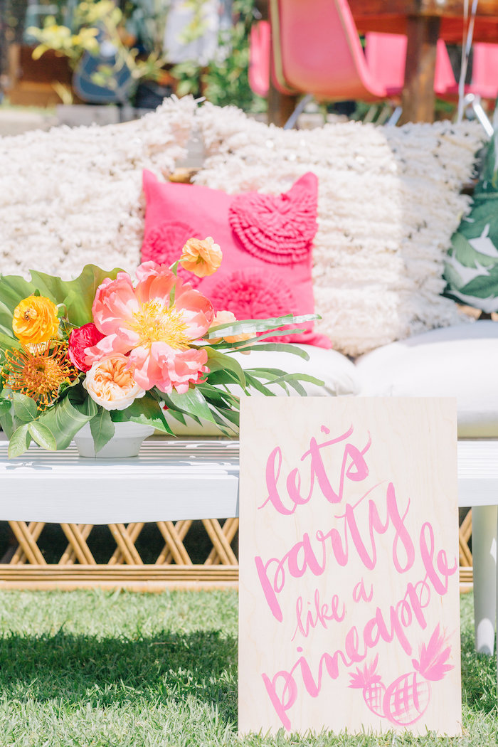 Tropical Birthday Party on Kara's Party Ideas | KarasPartyIdeas.com (22)