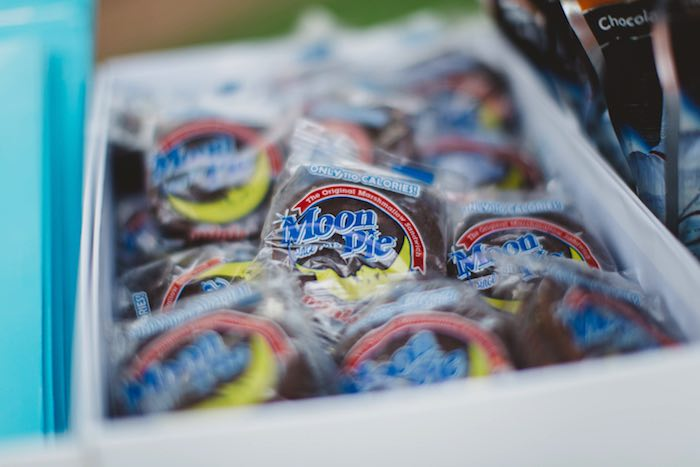 """Moon Pies from a """"Two the Moon"""" 2nd Birthday Party on Kara's Party Ideas 