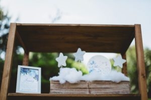 """Star wand favors from a """"Two the Moon"""" 2nd Birthday Party on Kara's Party Ideas 