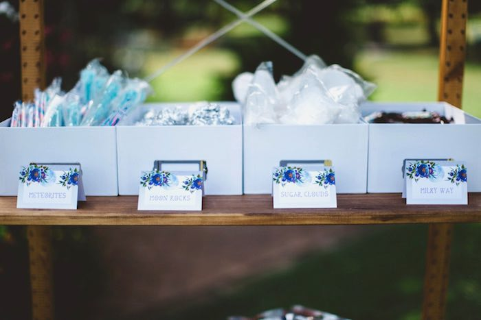 """Favors from a """"Two the Moon"""" 2nd Birthday Party on Kara's Party Ideas 