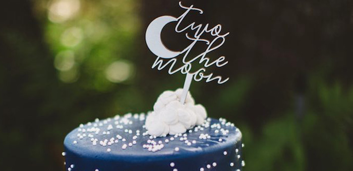 Kara S Party Ideas Quot Two The Moon Quot 2nd Birthday Party