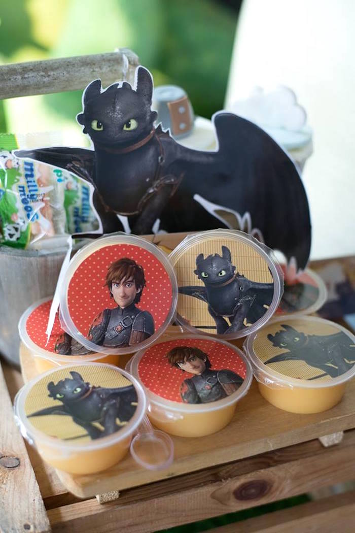 How to Train Your Dragon favors from a Viking & Dragons Birthday Party on Kara's Party Ideas | KarasPartyIdeas.com (10)