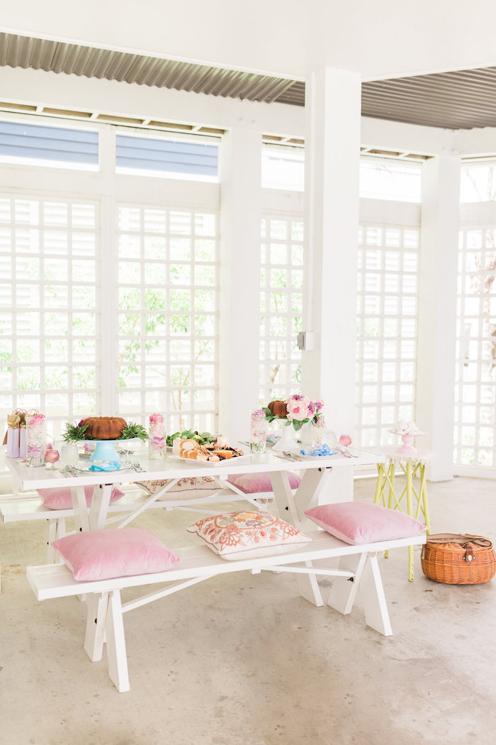 Vintage Shabby Chic Ladies Luncheon on Kara's Party Ideas | KarasPartyIdeas.com (20)