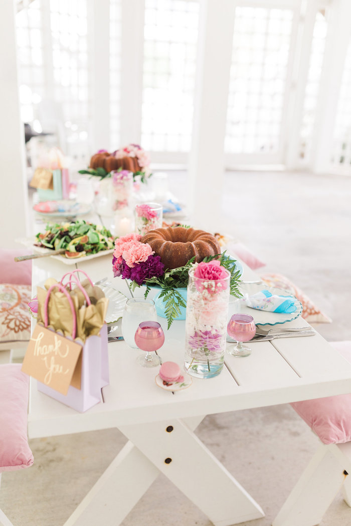 Vintage Shabby Chic Ladies Luncheon on Kara's Party Ideas | KarasPartyIdeas.com (6)