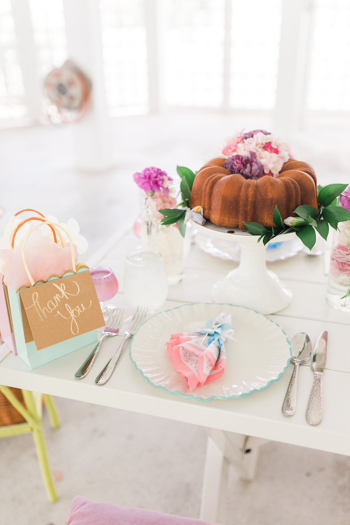 Vintage Shabby Chic Ladies Luncheon on Kara's Party Ideas | KarasPartyIdeas.com (30)