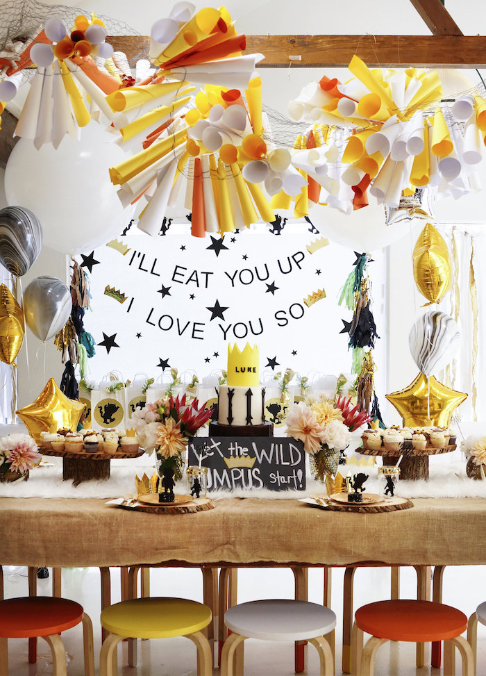 Karas Party Ideas Where the Wild Things Are 1st Birthday Party