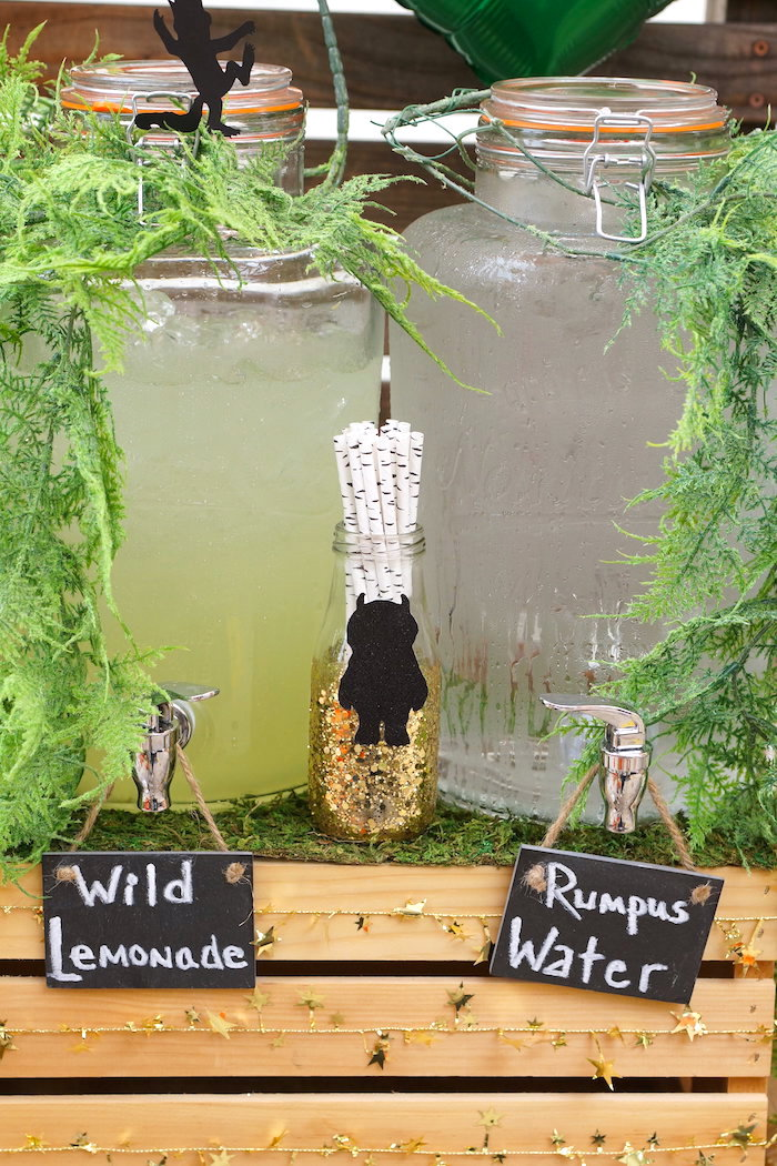 Kara S Party Ideas Where The Wild Things Are 1st Birthday Party