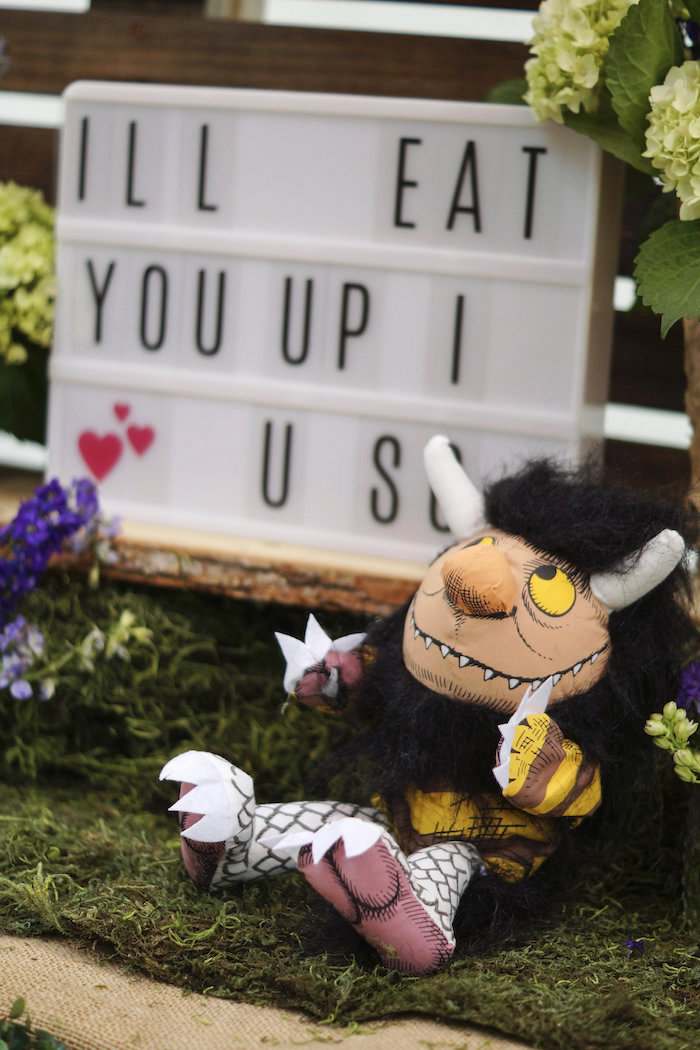 Where the Wild Things Are 1st Birthday Party on Kara's Party Ideas | KarasPartyIdeas.com (36)