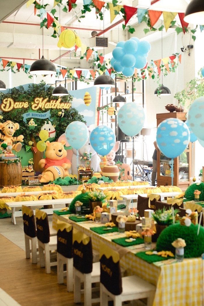 Karas Party Ideas Winnie the Pooh 1st Birthday Party Karas