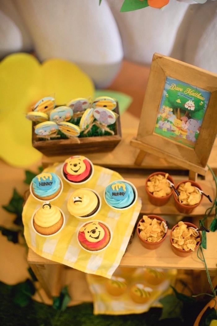 ... Party Ideas Winnie the Pooh 1st Birthday Party  Karas Party Ideas