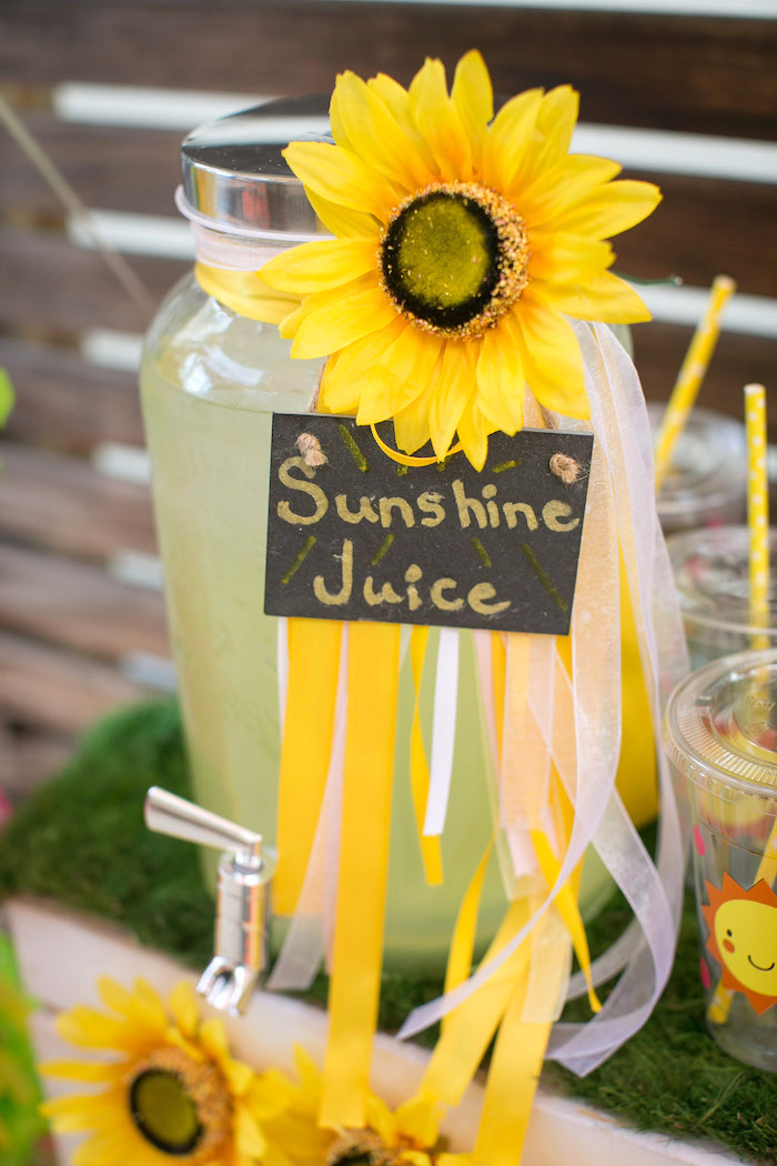 kara s party ideas you are my sunshine birthday party kara s party tuscany inspired bridal shower