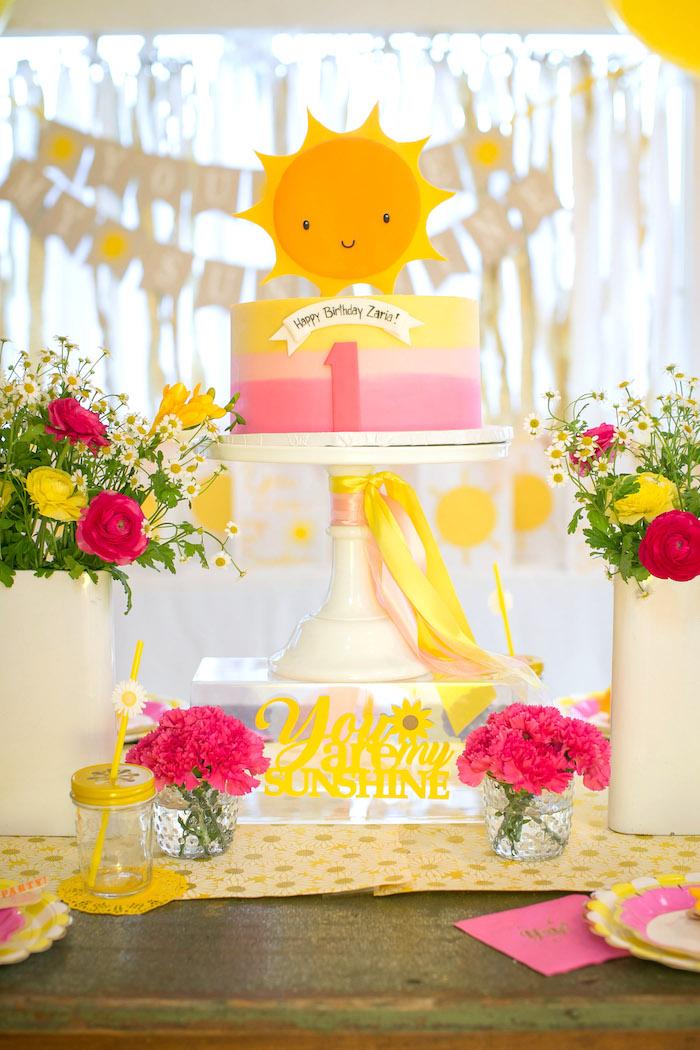 You Are My Sunshine Birthday Party on Kara's Party Ideas | KarasPartyIdeas.com (22)