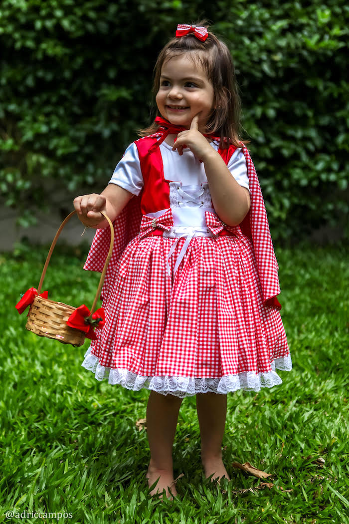 Red from a Little Red Riding Hood Birthday Party on Kara's Party Ideas | KarasPartyIdeas.com