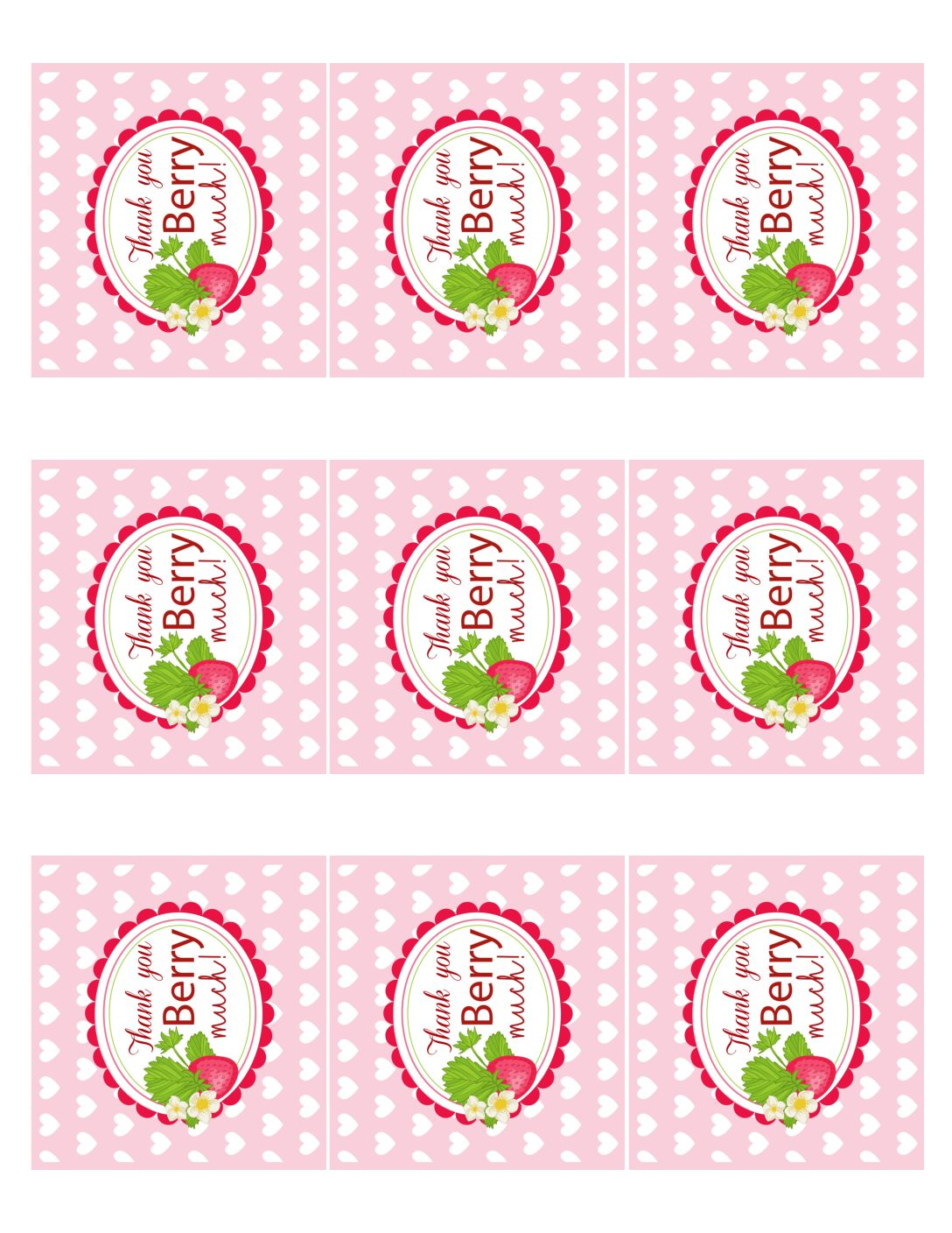 thank you printable tags - Selo.l-ink.co