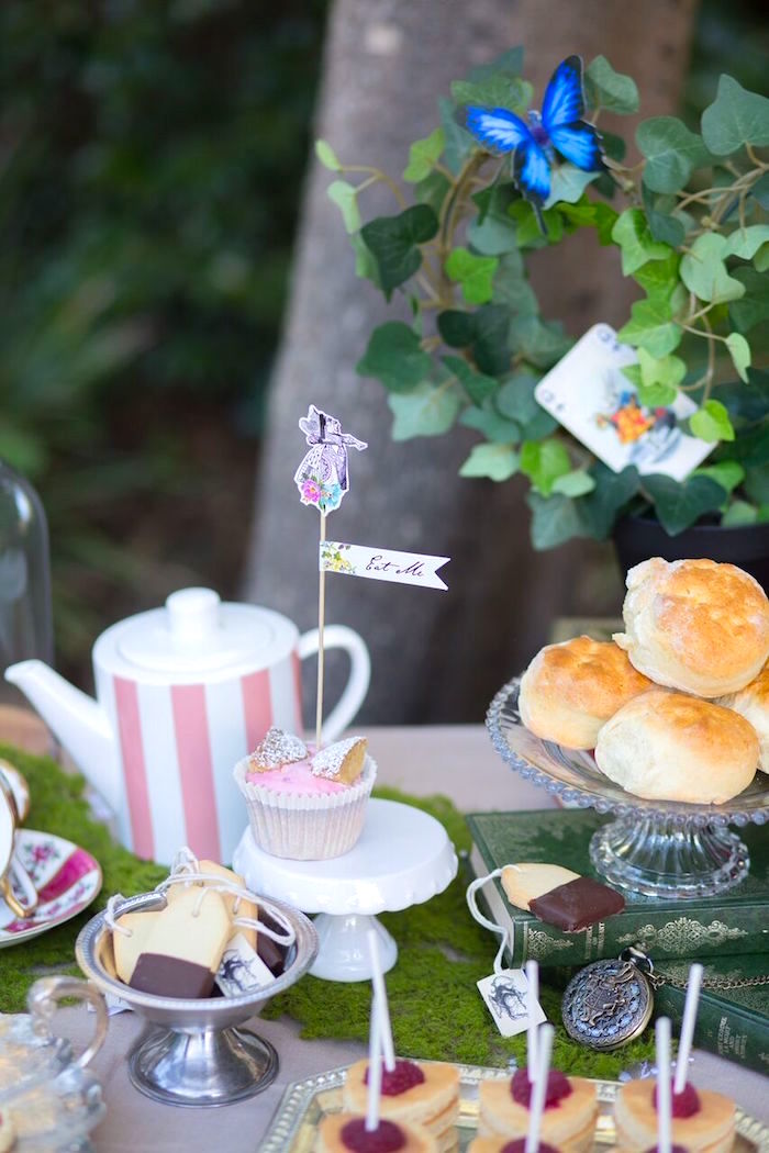 Alice in Wonderland Birthday Tea Party on Kara's Party Ideas | KarasPartyIdeas.com (20)