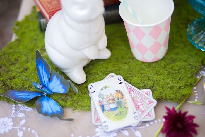 Decor from an Alice in Wonderland Birthday Tea Party on Kara's Party Ideas | KarasPartyIdeas.com (13)