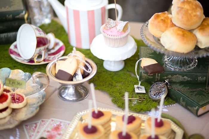 Alice in Wonderland Birthday Tea Party on Kara's Party Ideas | KarasPartyIdeas.com (10)