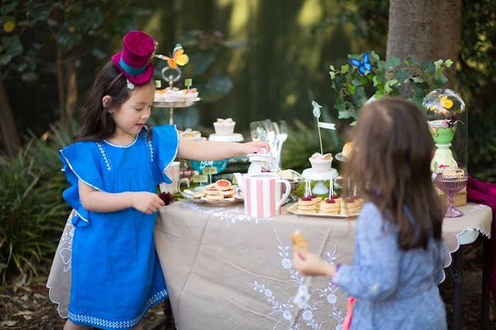 Alice in Wonderland Birthday Tea Party on Kara's Party Ideas | KarasPartyIdeas.com (7)