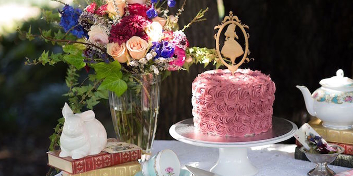 Alice in Wonderland Birthday Tea Party on Kara's Party Ideas | KarasPartyIdeas.com (3)