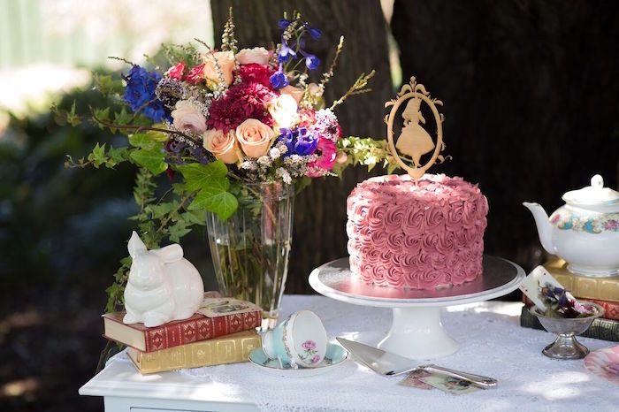 Alice in Wonderland Birthday Tea Party on Kara's Party Ideas | KarasPartyIdeas.com (30)