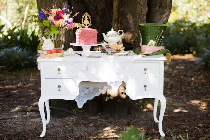 Alice in Wonderland Birthday Tea Party on Kara's Party Ideas | KarasPartyIdeas.com (28)