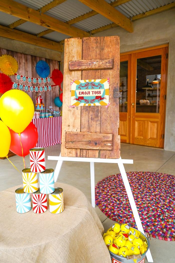 backyard carnival party details