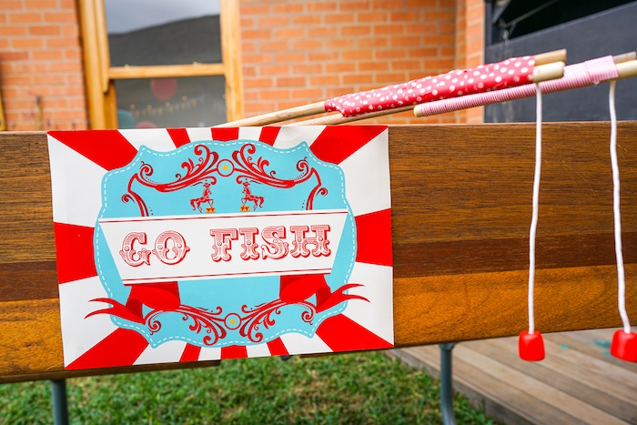 Go Fish game from a Backyard Carnival Party on Kara's Party Ideas | KarasPartyIdeas.com (30)