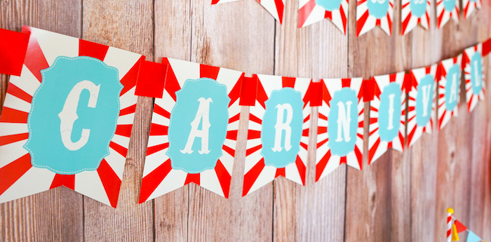 Backyard Carnival Party on Kara's Party Ideas | KarasPartyIdeas.com (3)