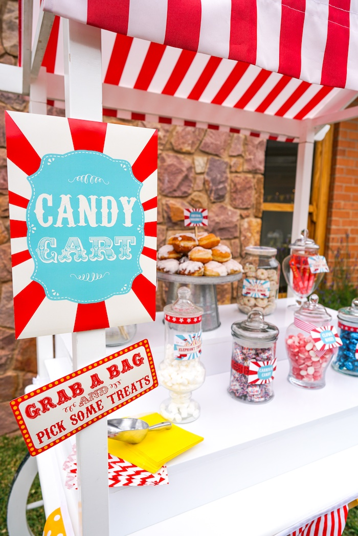 Kara's Party Ideas Backyard Carnival Party | Kara's Party ...