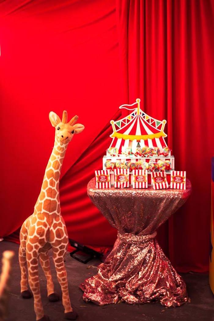 Circus favors from a Big Top Circus Birthday Party on Kara's Party Ideas | KarasPartyIdeas.com (6)