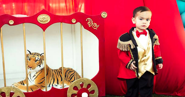 Big Top Circus Birthday Party on Kara's Party Ideas | KarasPartyIdeas.com (1)