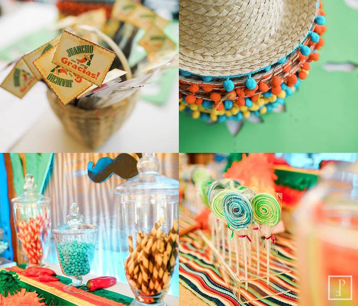 Details from a Cactus Fiesta Birthday Party on Kara's Party Ideas | KarasPartyIdeas.com (12)