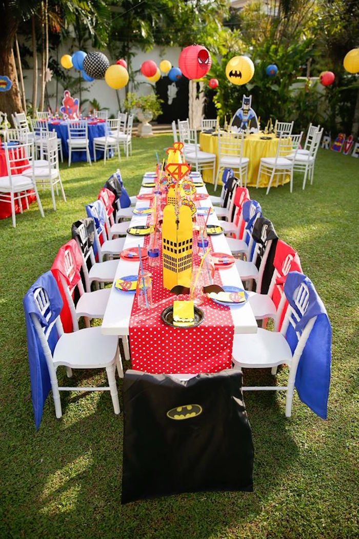 Capes For Kids Party