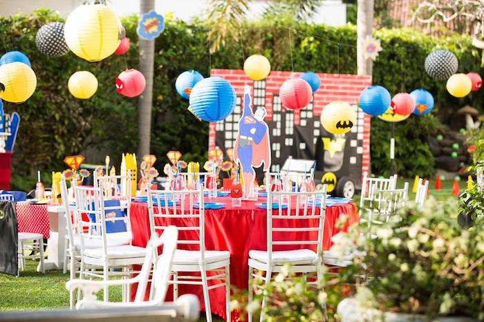 Calling All Superheroes Birthday Party on Kara's Party Ideas | KarasPartyIdeas.com (50)