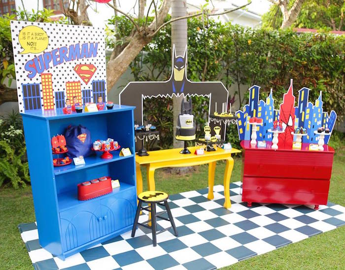 Calling All Superheroes Birthday Party on Kara's Party Ideas | KarasPartyIdeas.com (44)