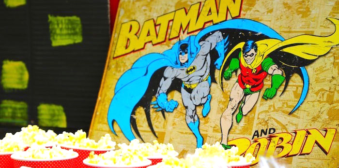 Colorful Superhero Birthday Party on Kara's Party Ideas | KarasPartyIdeas.com (4)