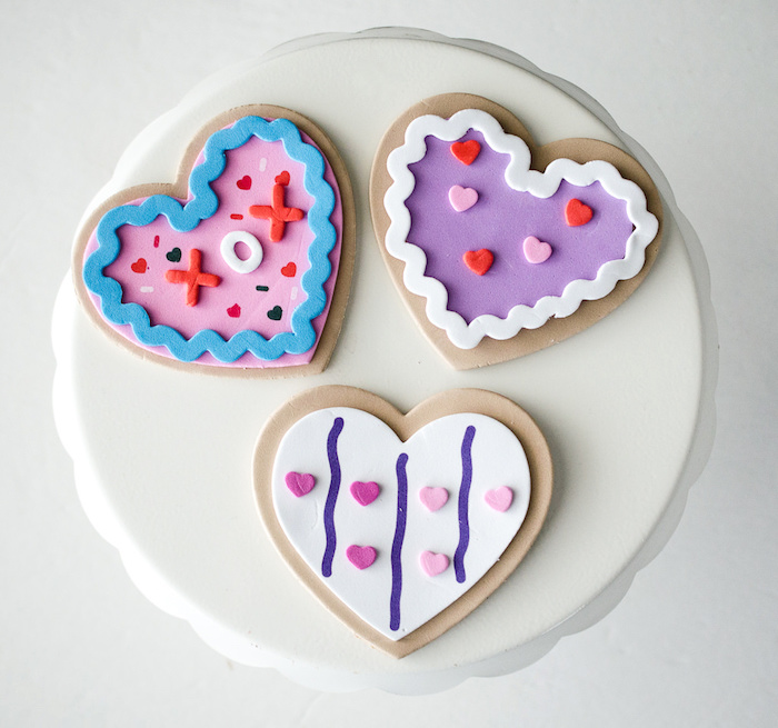 Foam hearts from a Dolly and Me Valentine Tea Party on Kara's Party Ideas | KarasPartyIdeas.com (18)
