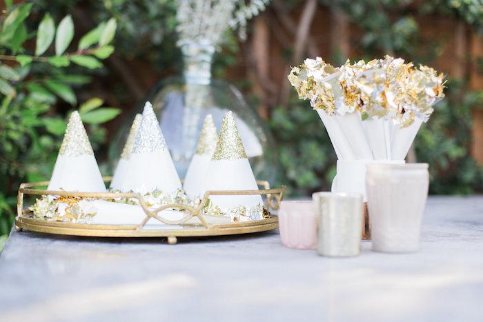Elegant Backyard 40th Birthday Party