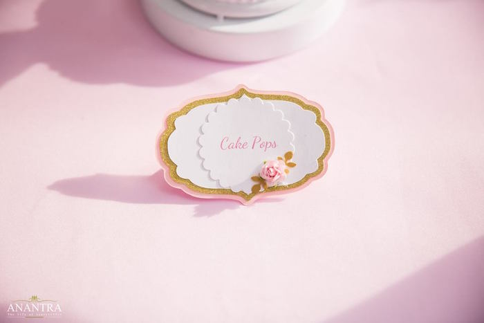 Dessert label from an Elegant Ballerina Birthday Party on Kara's Party Ideas | KarasPartyIdeas.com (36)