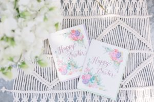 Invitations + Easter party signage from a Floral Easter Brunch on Kara's Party Ideas | KarasPartyIdeas.com (19)